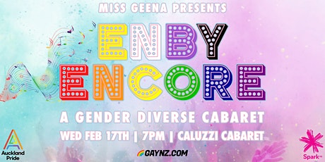 Enby Encore: A Gender Diverse Cabaret tickets
