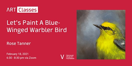 Let's Paint A Blue-Winged Warbler Bird Art Class tickets
