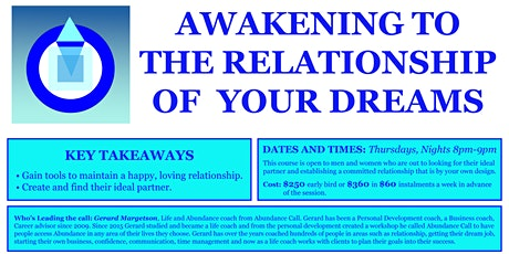 Awakening to the Relationship of your Dreams tickets