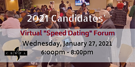 Candidate Speed Dating - 2021 (CANDIDATE Registration) tickets