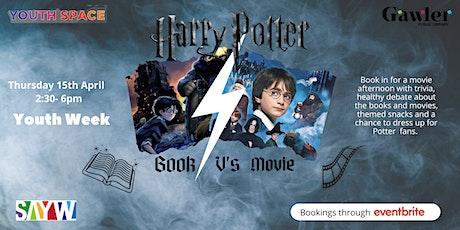 Book V's Movie: Harry Potter tickets