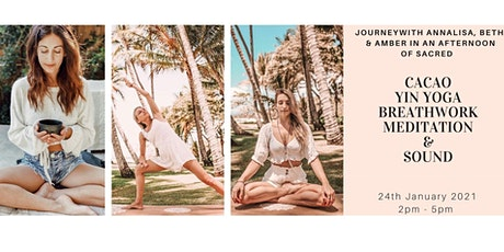 Come Home to your Heart Centre with Cacao, Yin Yoga, Breath & Sound tickets
