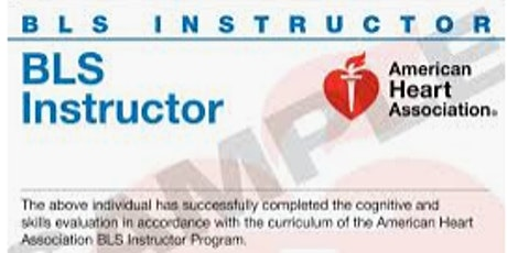 Basic Life Support (BLS) Instructor eCard ADAMS NETWORK INSTRUCTORS ONLY tickets