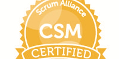 Virtual Certified ScrumMaster (CSM) live and online over 3 days tickets