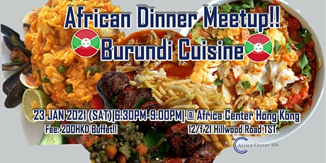 African Dinner Meetup! (Burundi Cuisine) tickets