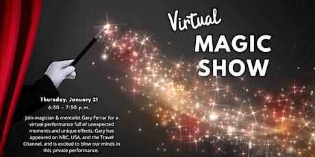 Virtual Magic Show - Ft. Gary Ferrar tickets