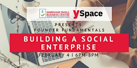 Founder Fundamentals - Building a Social Enterprise tickets