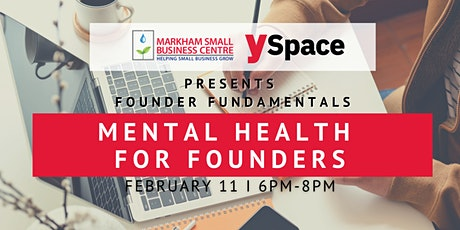 Founder Fundamentals - Mental Health for Founders tickets