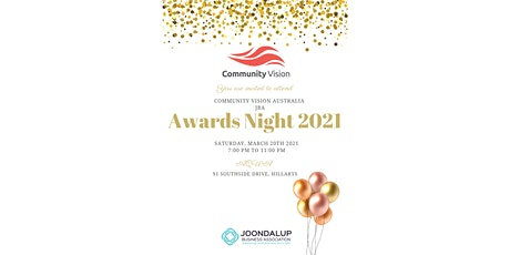 Community Vision Australia JBA Business Awards  2021 tickets