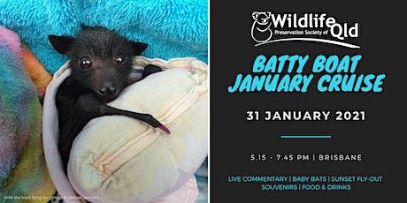 Batty Boat January 2021 Cruise tickets