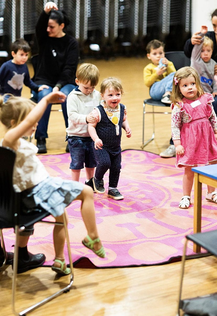 Kids Music and Moves - individual classes & term ticket sales image
