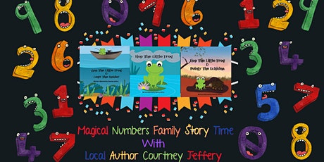 Magical Numbers Story Time With Local Author Courtney Jeffery - Casuarina tickets