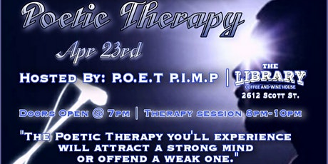 Poetic Therapy tickets