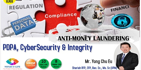 AMLA, Personal Data Act (PDPA), Cybersecurity & Integrity tickets
