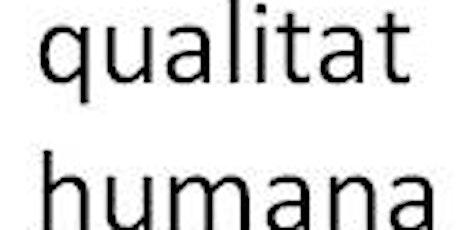 CULTIVO DE LA CUALIDAD HUMANA Y NUEVAS ESPIRITUALIDADES. Café-Tertulia entradas