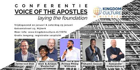 Voice of the Apostles Conferentie tickets