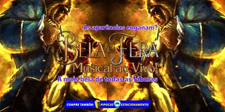 """50% DE DESCONTO: Espetáculo """"A Bela e a Fera, O Musical"""", no Teatro BTC ingressos"""
