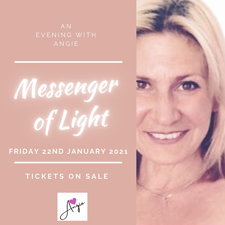 An Evening With Angie - Messenger of Light image