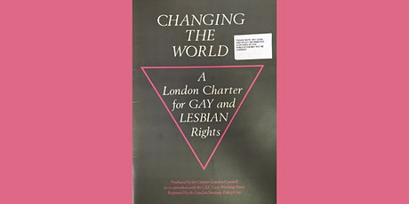 Changing the World: A London Charter for Gay and Lesbian Rights, 1985 tickets
