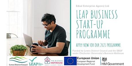 LEAP Business Start-up Programme - Initial 2-Part Online Workshop tickets