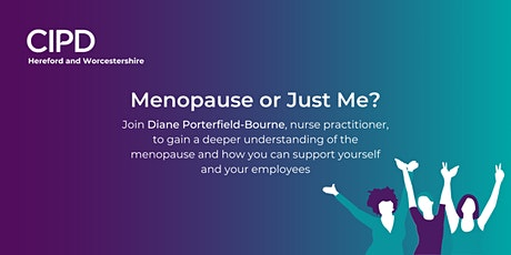Menopause or Just Me? tickets
