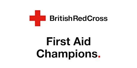 First Aid Champions Webinars tickets