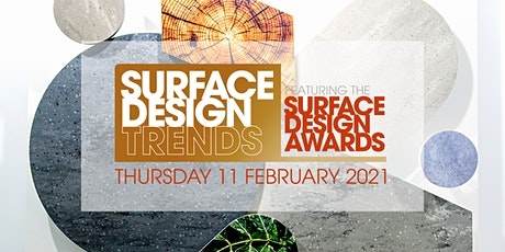 Surface Design Trends Featuring the Surface Design Awards 2021 tickets