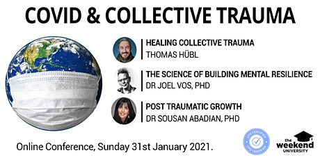 COVID & Collective Trauma Online Conference tickets