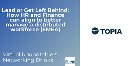 How HR and Finance can align to better manage a distributed workforce -EMEA tickets