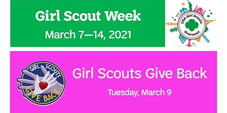 USAGSO Celebrates Girl Scout Week: Girl Scouts Give Back tickets