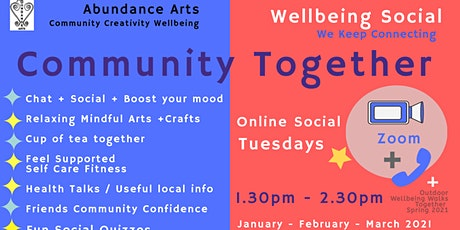 Community Together - Arts Wellbeing tickets