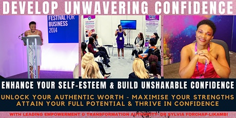 DEVELOP UNWAVERING CONFIDENCE! tickets