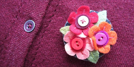 Simple Stitching | Bouquet Brooch tickets