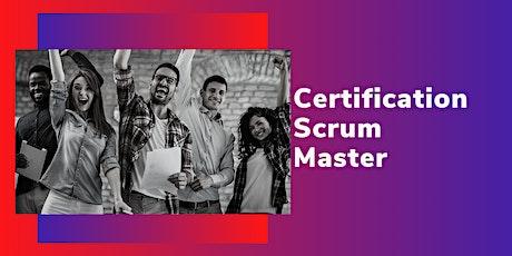 Certification Scrum Master billets