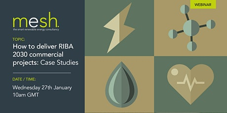 Mesh Energy CPD how to deliver RIBA 2030 commercial projects: case studies tickets