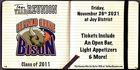 Buffalo Grove Class of 2011: Ten Year Reunion tickets