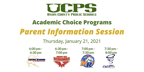 UCPS Academic Choice Programs Parent Information Session tickets