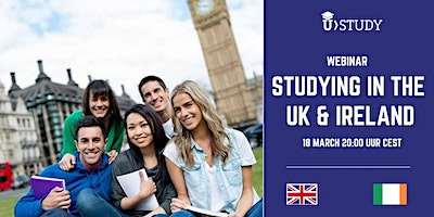 Free webinar Studying in the United Kingdom and Ireland