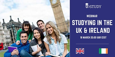 Free webinar Studying in the United Kingdom and Ireland tickets