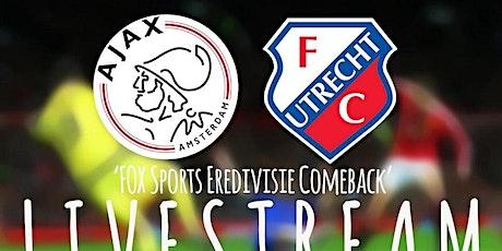 NAAR-TV@!.MaTch Ajax - FC Utrecht LIVE OP TV 16 DEC 2020 tickets
