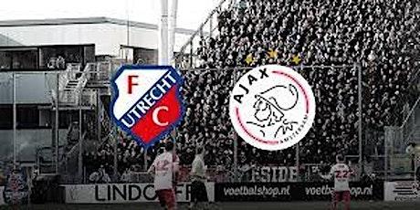 KNVB-Beker@!.Ajax - FC Utrecht LIVE OP TV 16 DEC 2020 tickets