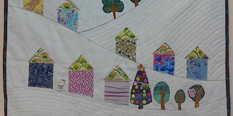 Winter Village Wall Hanging tickets