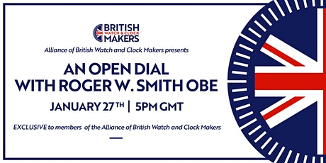 Open Dial with Roger W. Smith OBE billets