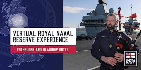 Virtual Royal Naval Reserve Experience - HMS Scotia and HMS Dalriada tickets