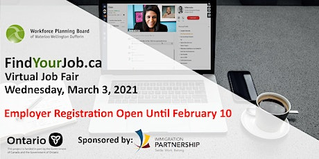 FindYourJob.ca Winter Virtual Job Fair tickets