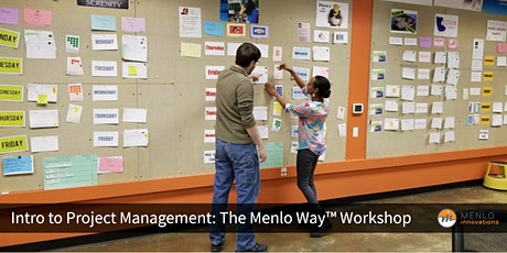 Intro to Project Management: The Menlo Way™ Workshop (Virtual) tickets