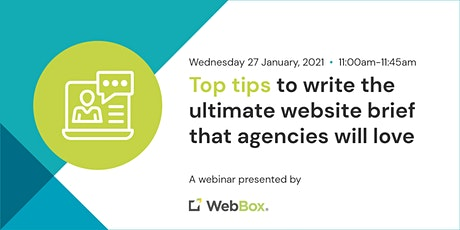 Top tips to write the ultimate website brief that agencies will love tickets