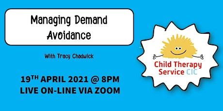 Managing Demand Avoidance - WEBINAR tickets