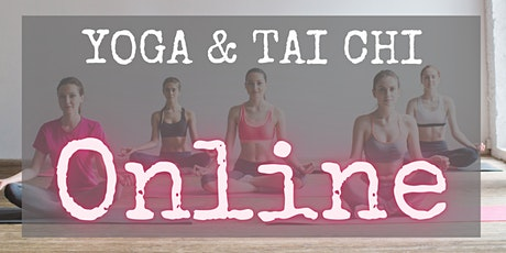 Online yoga en Tai Chi les tickets