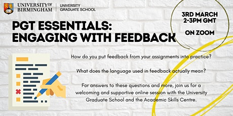 PGT Essentials: Engaging with Feedback tickets